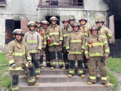 St Paul MN FD Recruit Class July 28, 2014