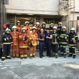 Taoyuan City Fire Taiwan Nov 17,2015