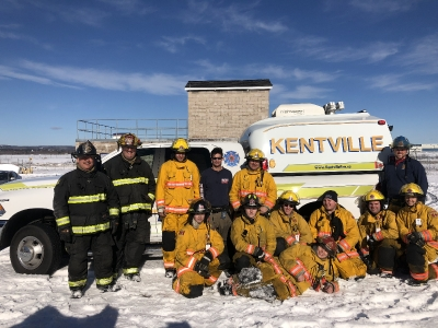 Wolfville & Kentville FD NS Canada January 21, 2018