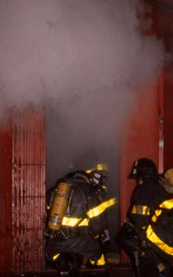 Training includes live burns in addition to classroom and camera-specific training.